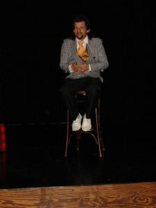 """""""Ez-valóban-nem ugyanaz"""" - Gábor remekelt a színpadon. Humoros, spontán és elgondolkodtató volt az előadása. Gratulálunk Gábor a lelkiismeretes felkészülésért és a szórakoztató előadásért!"""