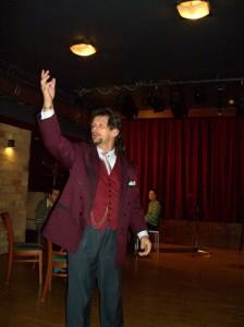 Elmegy a kugli, egy este berúgni!...Gyarmati Gábor  előadásában