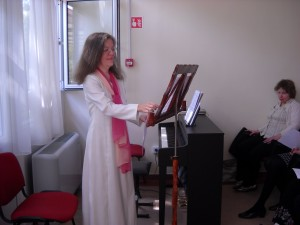 Kis Mónika hegedűművész is közreműködött a műsorban