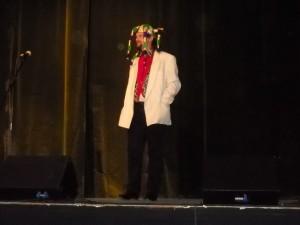Gyarmati Gábor egyéni vers-és prózamondás kategóriában is indult