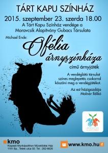 Tárt Kapu Színház plakát 2015.09.23.